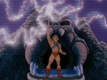 Power of Greyskull He-man
