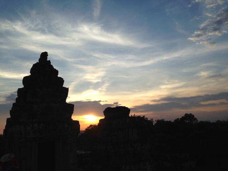 Phnom Bakheng Temple, Siem Reap, Cambodia