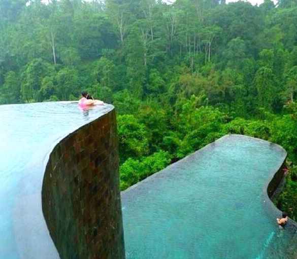 Retirement Life Infinity Pool, Bali Indonesia - Sweet Talking Your Home Appraiser Pays Off