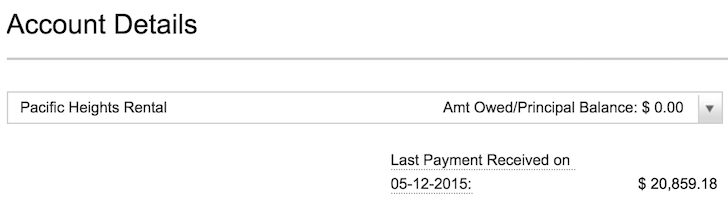 The last mortgage payment for my condo felt great
