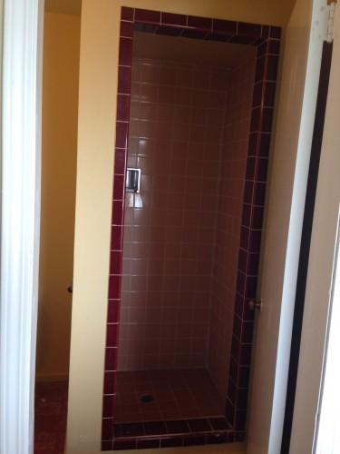 tiny bathroom shower