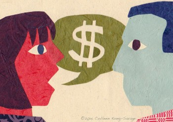 Let's Chat About Money by Colleen Kong Savage