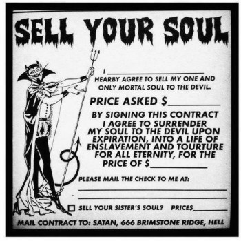 Sell Your Soul For Money