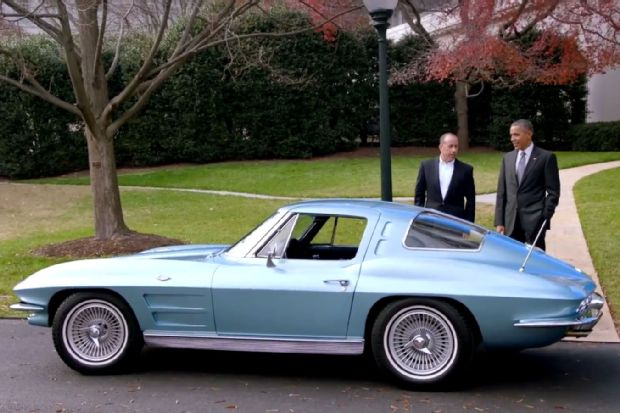 1963 Chevrolet Corvette Mid-Life Crisis Car