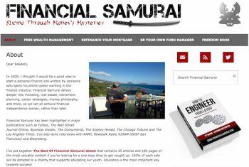 About Financial Samurai
