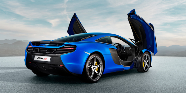McLaren 570S Coupe Mid-Life Crisis Sports Car