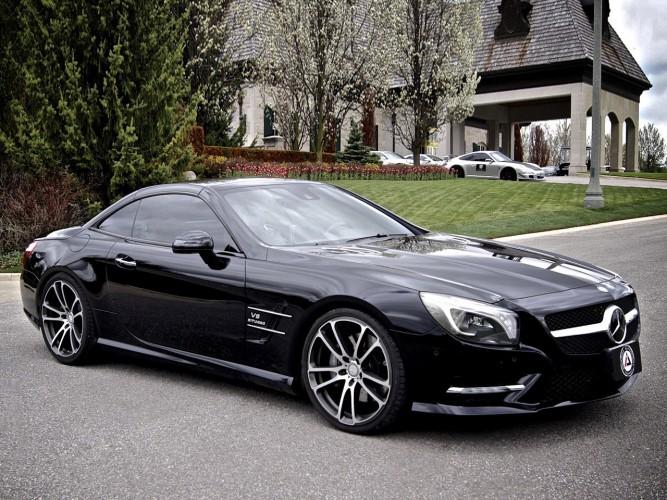 Mercedes SL550 Brabus Mid-life Crisis Car