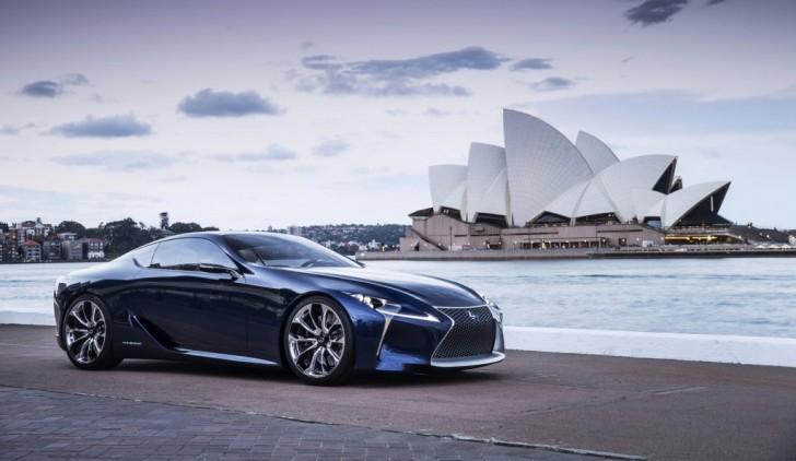 Lexus LC 500 Mid Life Crisis Car