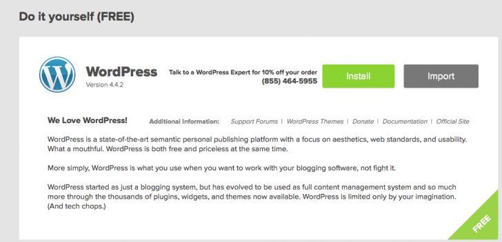 Install WordPress On Bluehost