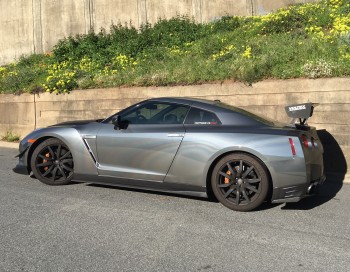The Nissan GTR that's terrorizing our quiet neighborhood