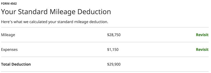 Car As A Tax Deduction 50,000 Miles Driven