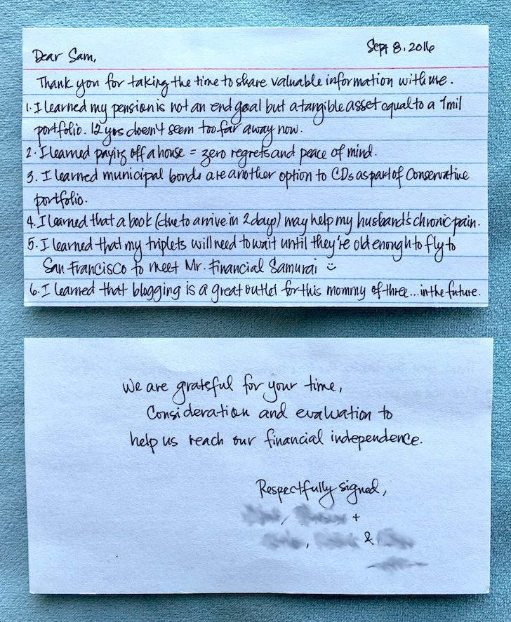 ONIG Financial Blog Consulting Letter
