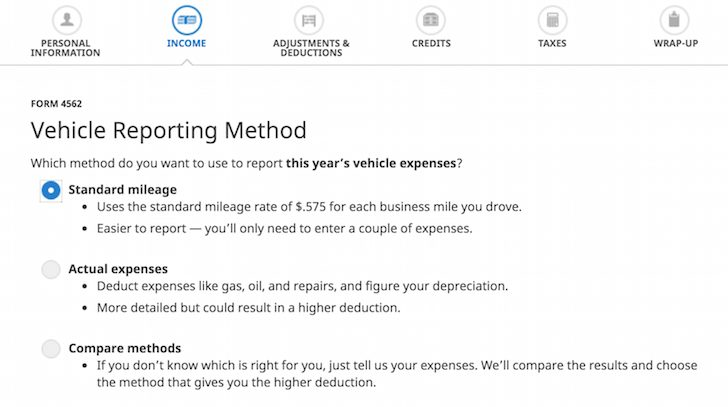 Standard Mileage or Actual Deduction for Car Expenses