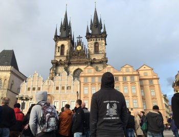 Financial Samurai in Prague