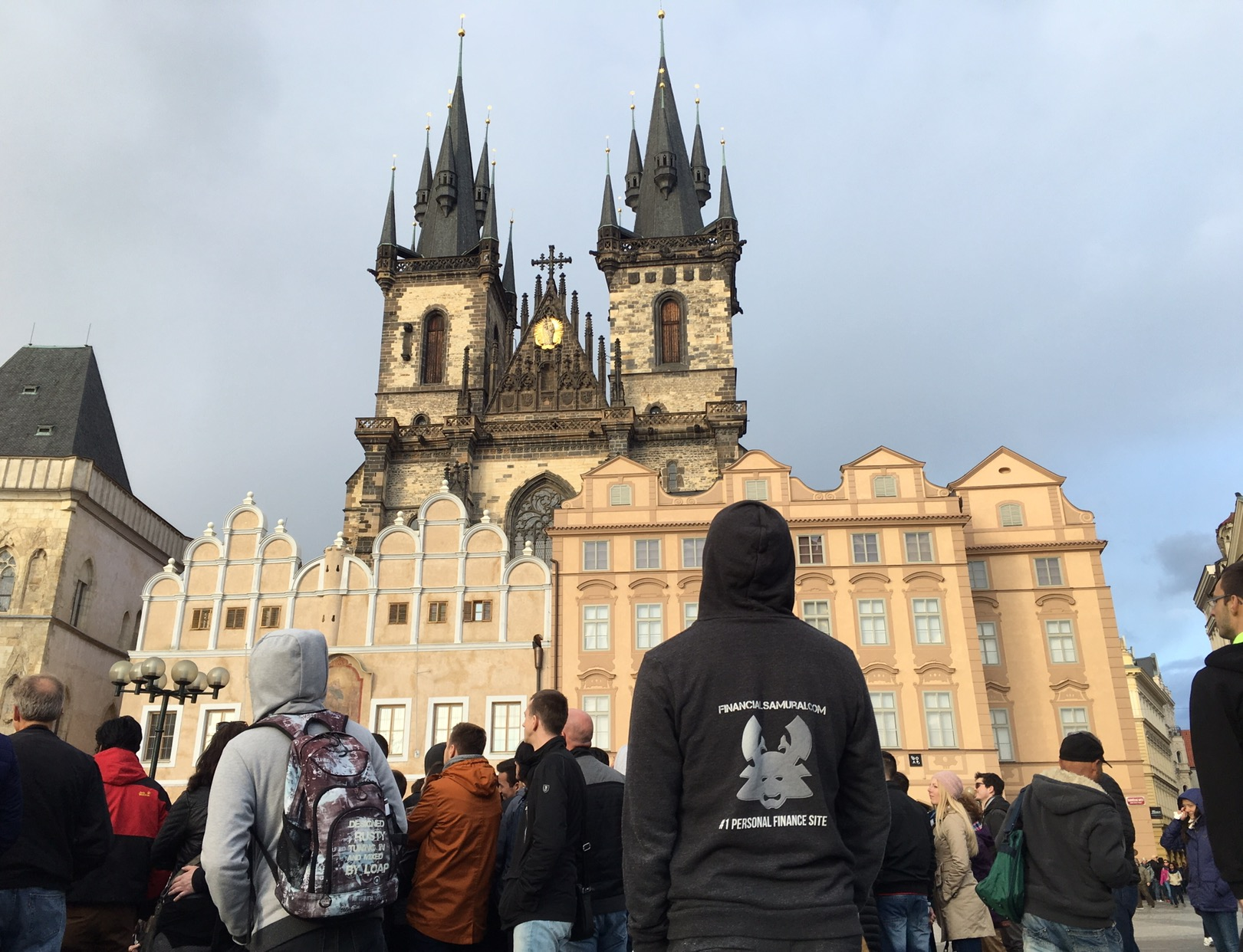 Financial Samurai in Prague - The Best Way To Travel For Free And Lower Your Taxable Income