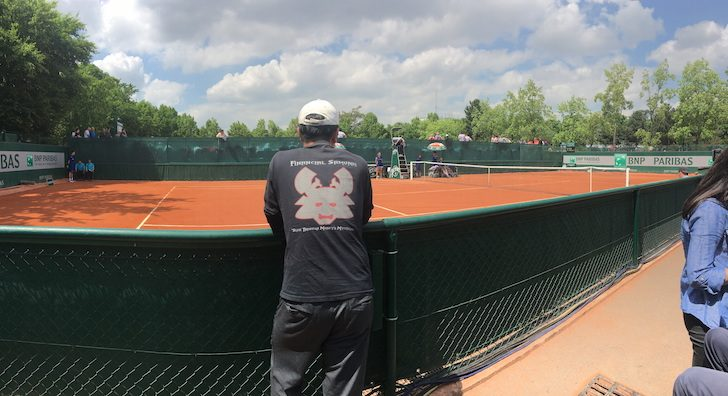 Financial Samurai at the French Open