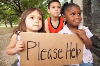 Poor Children All Races