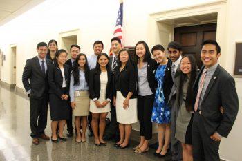 Interns with Congresswoman Grace Meng