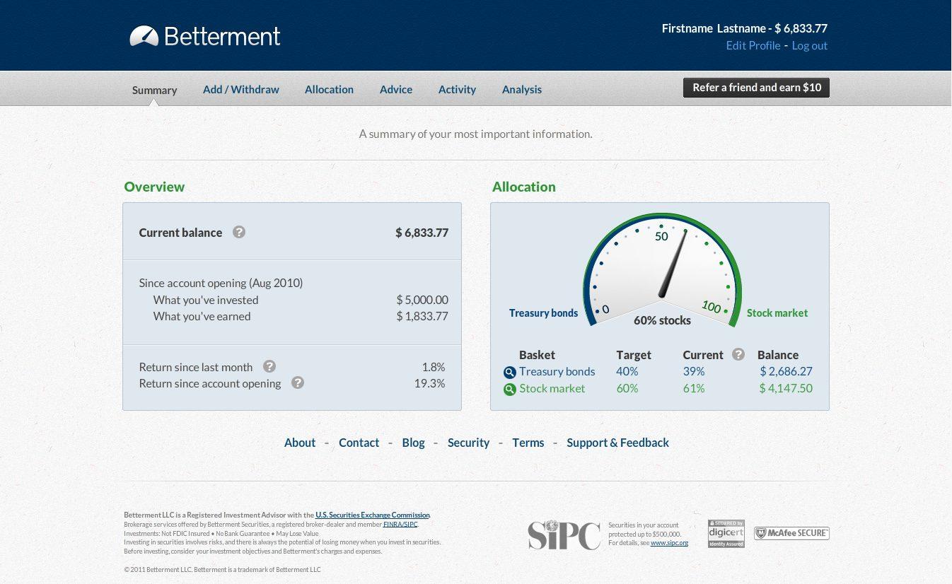 Betterment App Review