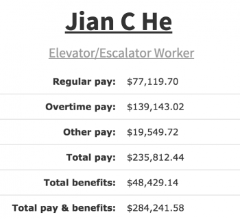Escalator Worker Pay, abolish welfare mentality