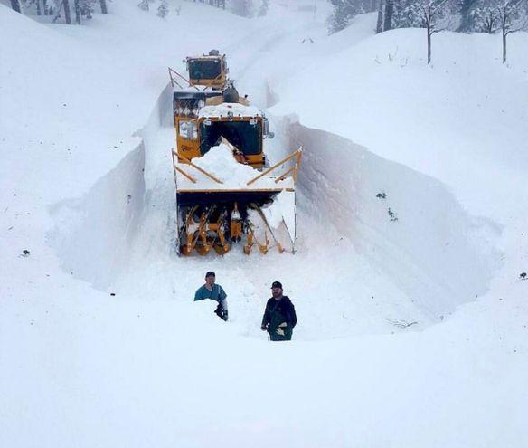 Lake Tahoe Record Snowfall January 2017