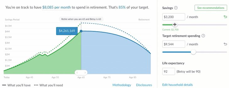 Wealthfront Path Feature