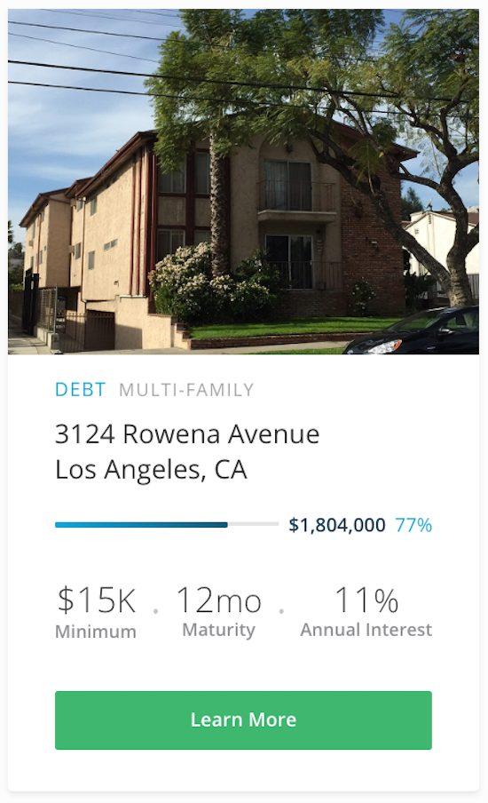 Crowdfunding LA Investment