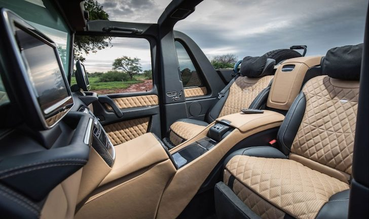 Financial Samurai G650 Maybach Interior