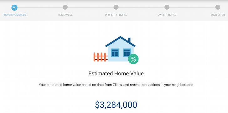 Patch Homes Estimated Home Value