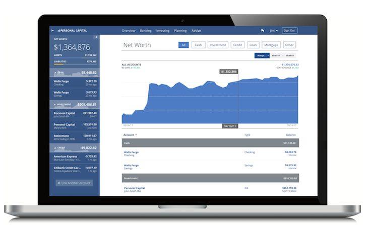 Personal Capital Net Worth Calculator Tool