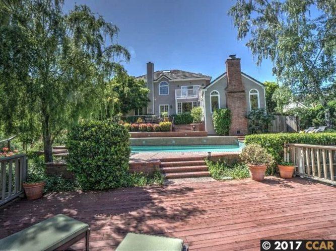 Listing a house - nice back yard