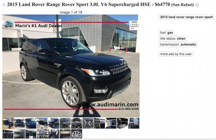 Family car - range rover sport