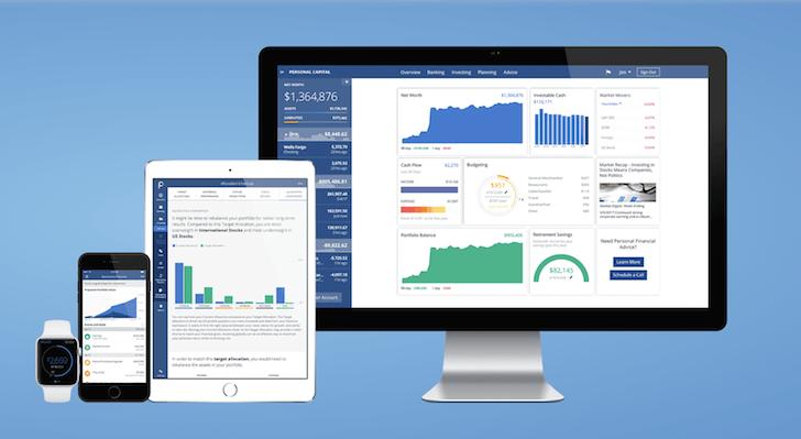 Personal Capital mobile apps - Best Hybrid Robo-Advisor
