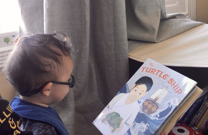 The Turtle Ship Book Review illustrated by Colleen Kong-Savage