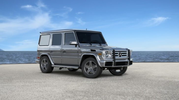 Mercedes G500 - car fanatic buyer's dream