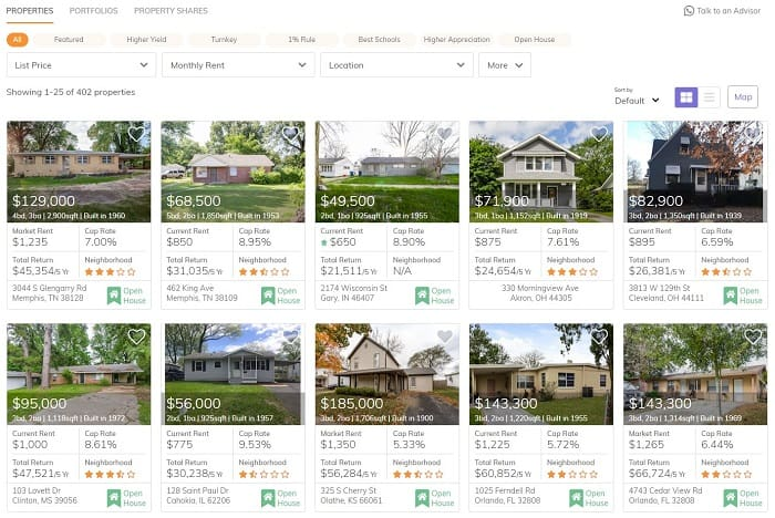 Roofstock Review: Single Family Rentals