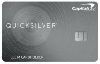 CapitalOne Quicksilver Cash Rewards Credit Card