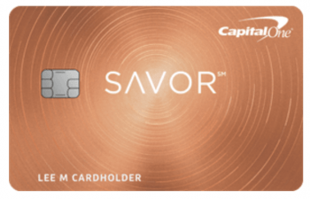 CapitalOne Savor Cash Rewards Credit Card