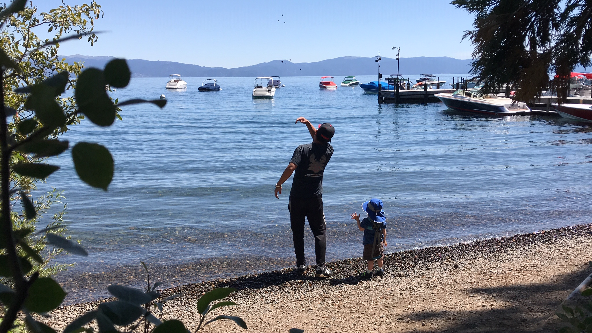 Lake Tahoe Vacation Property With Financial Samurai And Son