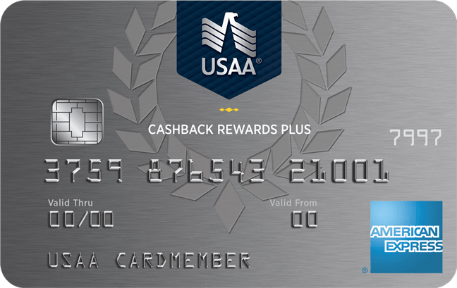 USAA Cash Back Rewards Plus Amex