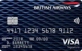 British Airways Visa Signature® Card - best international airlines credit card