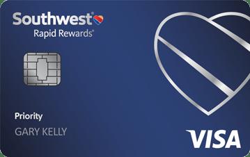 Southwest Rapid Rewards® Premier Credit Card - a best airlines credit cards
