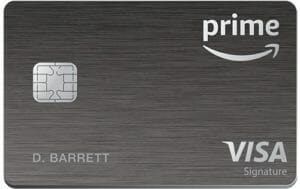Amazon Prime Rewards Signature Visa