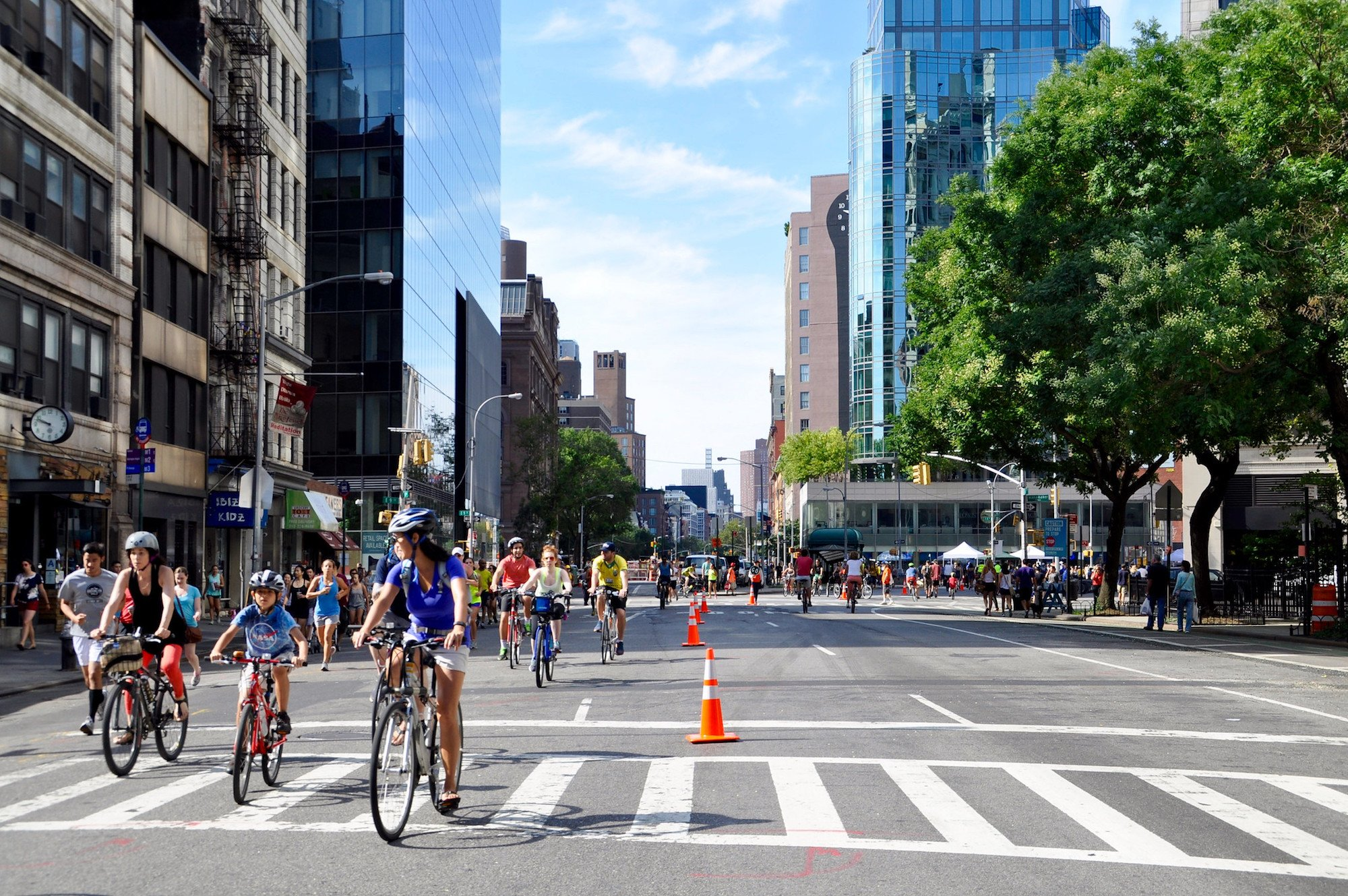 NYC Open Streets - Big City Living Is Getting better