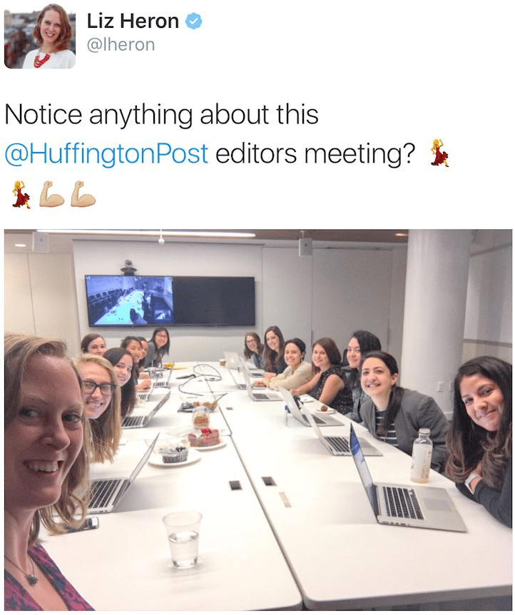 Lack of diversity at the Huffington Post