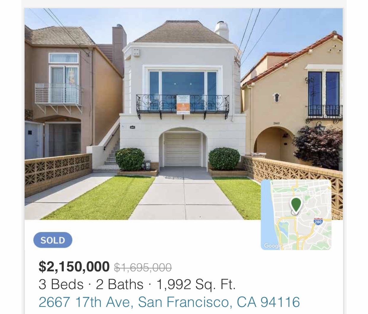 Thee type of house you can buy for $400K