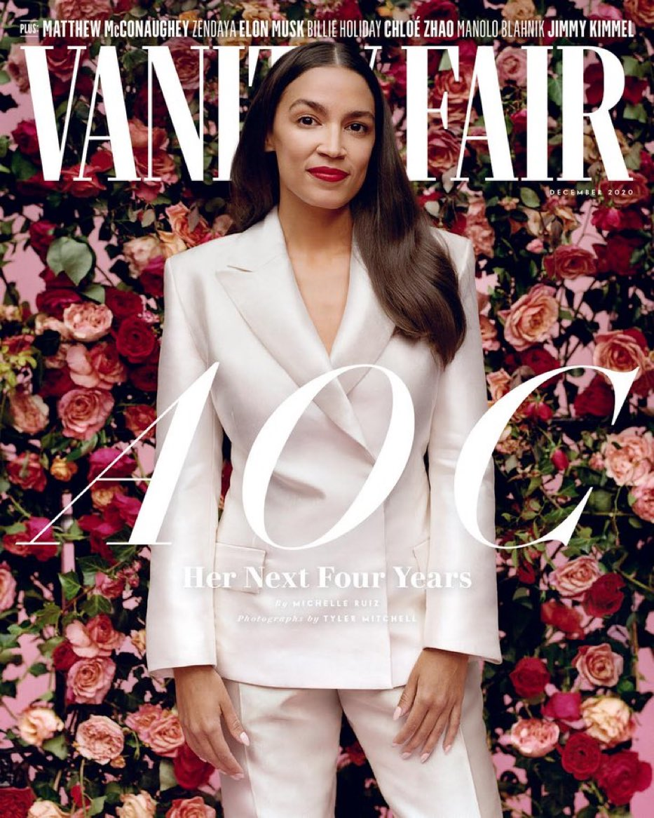 Alexandria Ocasia-Cortez Net Worth in Vanity Fair