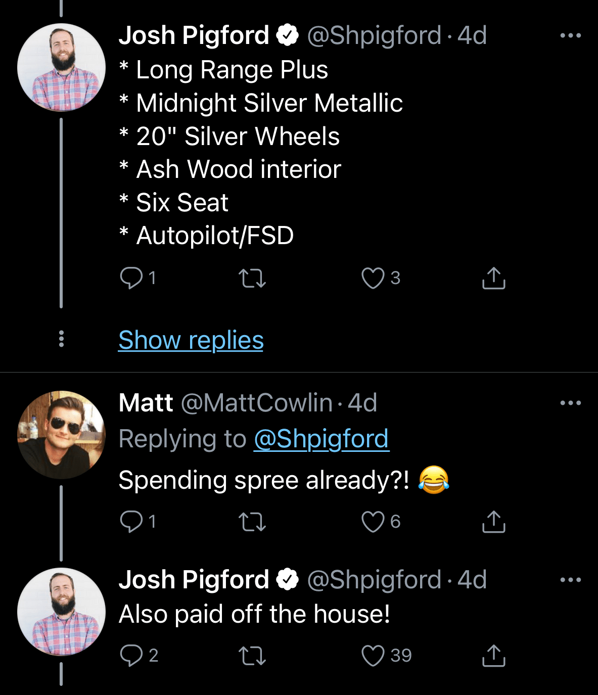 Don't join a startup - Founders like Josh Pigford will get all the spoils and brag about it on Twitter