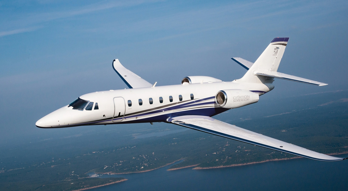 Flying private in a Citation Sovereign
