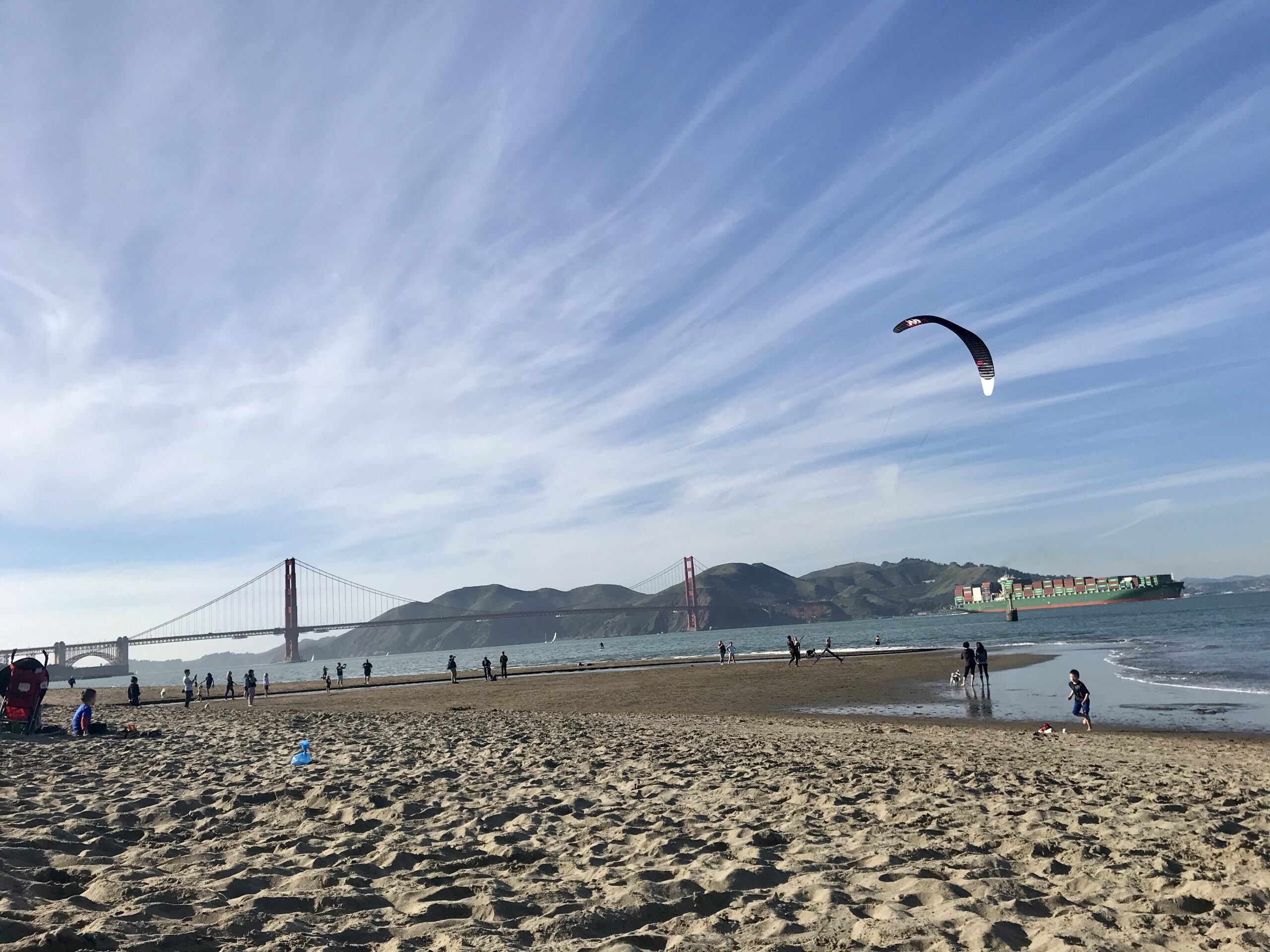 Traveling with kids is not necessary if you live in a great city like San Francisco